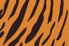 Illustration de vecteur de modèle de rayure de tigre Images libres de droits