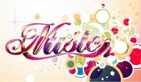 Illustration de vecteur de musique Images stock