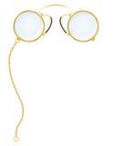 Illustration de vecteur de pince-nez de lunettes Photo stock