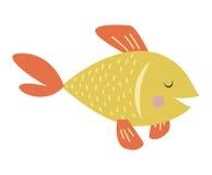 Illustration de vecteur de poissons d'or illustration libre de droits