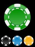 Illustration de vecteur de puce de casino