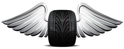Illustration de vecteur de roue Image libre de droits