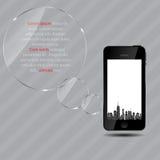 Illustration de vecteur de silhouette de villes. ENV 10. Images stock