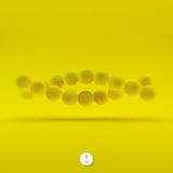 Illustration de vecteur de structure d'ADN dans 3d Images libres de droits