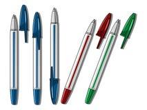 Illustration de vecteur de stylo de Ballpen Image libre de droits