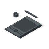 Illustration de vecteur de tablette graphique illustration libre de droits