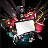 Illustration de vecteur de technologie Photographie stock libre de droits