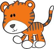 Illustration de vecteur de tigre Image libre de droits