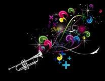 Illustration de vecteur de trompette illustration stock