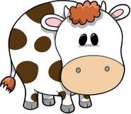 Illustration de vecteur de vache Photographie stock
