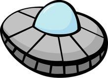 illustration de vecteur de vaisseau spatial d'UFO Image libre de droits