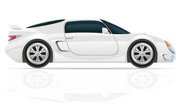 Illustration de vecteur de voiture de sport Photos stock