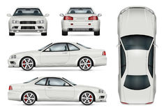 Illustration de vecteur de voiture de sport Photographie stock