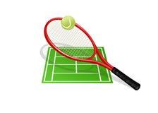 Tennis illustration stock