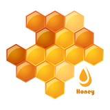 illustration de vecteur des nids d'abeilles Photos stock