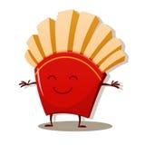 Illustration de vecteur des pommes de terre frites Photographie stock