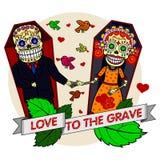 Illustration de vecteur des squelettes Image libre de droits