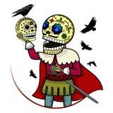 Illustration de vecteur des squelettes Photo stock