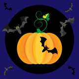 Illustration de vecteur des vacances de Halloween illustration stock