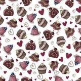 Illustration de vecteur - desserts illustration stock