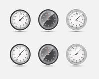 Illustration de vecteur du monde de fuseau horaire Photos libres de droits
