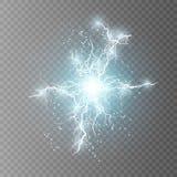 Illustration de vecteur Effet de la lumière transparent illustration de vecteur