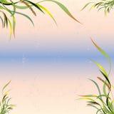 Illustration de vecteur - fleurs et feuilles des usines Photographie stock libre de droits