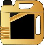 Illustration de vecteur de gallon de carburant diesel de bouteille illustration libre de droits