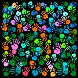 Illustration de vecteur de Handprint illustration stock