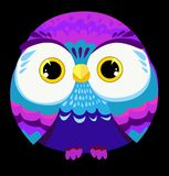 Illustration de vecteur de hibou Image stock
