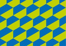 Illustration de vecteur de la géométrie de concept avec le shap géométrique d'hexagone Image libre de droits