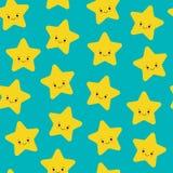Illustration de vecteur Le modèle sans couture avec le jaune mignon en baisse tient le premier rôle le fond blanc Symbole de temp illustration libre de droits