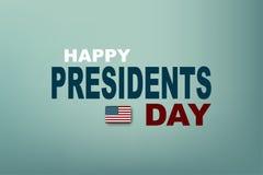 Illustration de vecteur Les Présidents Day aux Etats-Unis Le Président Day d'affiche EPS10 Photo libre de droits