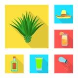 Illustration de vecteur de logo de partie et de célébration Placez de la partie et du symbole boursier latin pour le Web illustration de vecteur