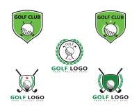 Illustration de vecteur de Logo Template de golf illustration de vecteur