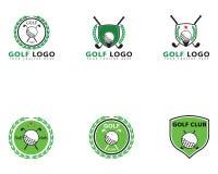 Illustration de vecteur de Logo Template de golf illustration libre de droits