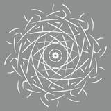 Illustration de vecteur de mandala Modèle oriental floral de résumé rond, éléments décoratifs de cru illustration stock