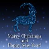 Illustration de vecteur Nouvelle année de la chèvre Photo stock