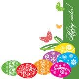 Illustration de vecteur Pâques décorative Photographie stock