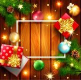 illustration de vecteur pendant le Joyeux Noël et la bonne année Gre illustration libre de droits