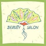 illustration de vecteur pour le salon de beauté Photo libre de droits