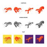Illustration de vecteur de signe d'apéritif et d'océan Placez du symbole boursier d'apéritif et de délicatesse pour le Web illustration de vecteur