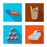 Illustration de vecteur de signe de nourriture et de boissons Ensemble d'illustration courante de vecteur de nourriture et de mag illustration de vecteur