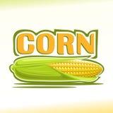 Illustration de vecteur sur le thème du maïs Photos stock