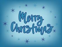 Illustration de vecteur de texte de Joyeux Noël pour le calendrier, l'affiche de typographie, la carte de voeux ou la carte posta photo stock