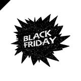 Illustration de vecteur de vente de Black Friday pour votre conception, affiche ou Photographie stock libre de droits