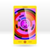 Illustration de Vectoral : cellule jaune Images stock