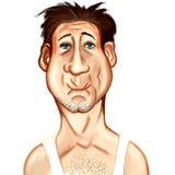 Illustration de vieil homme Images stock