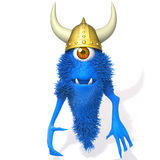 Illustration de Viking 3d de monstre Photo libre de droits