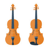 Illustration de violon d'isolement sur un fond blanc Photo stock